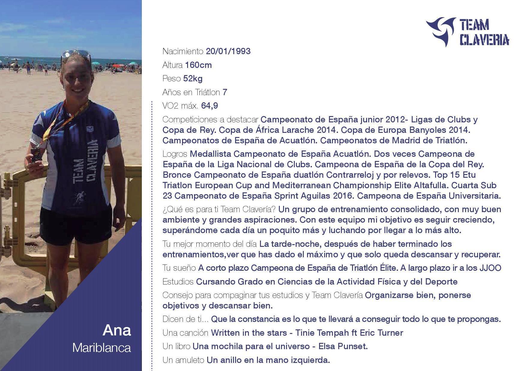 Ana Mariblanca TeamClaveria-dossier
