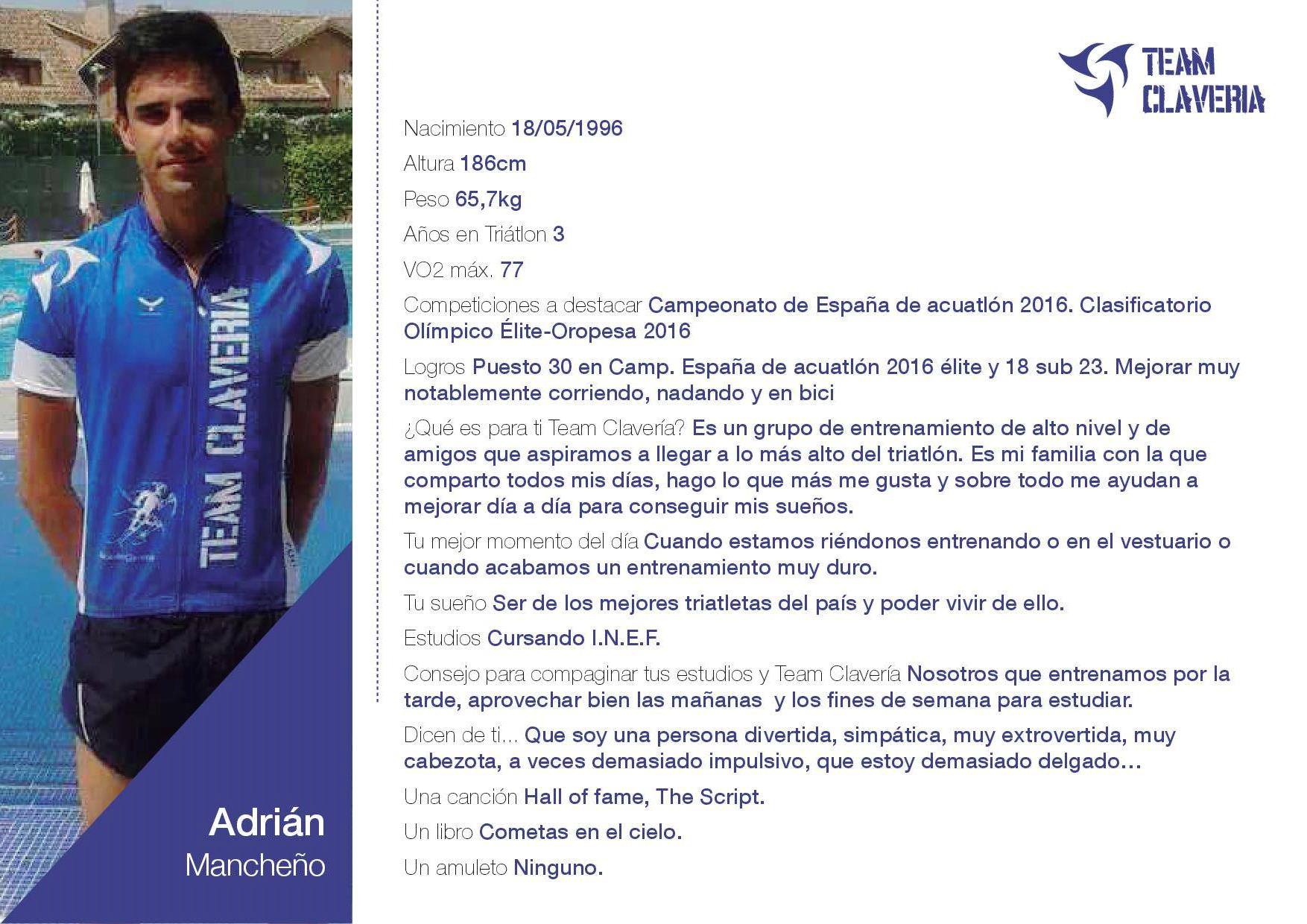 TeamClaveria-Adrián Mancheño
