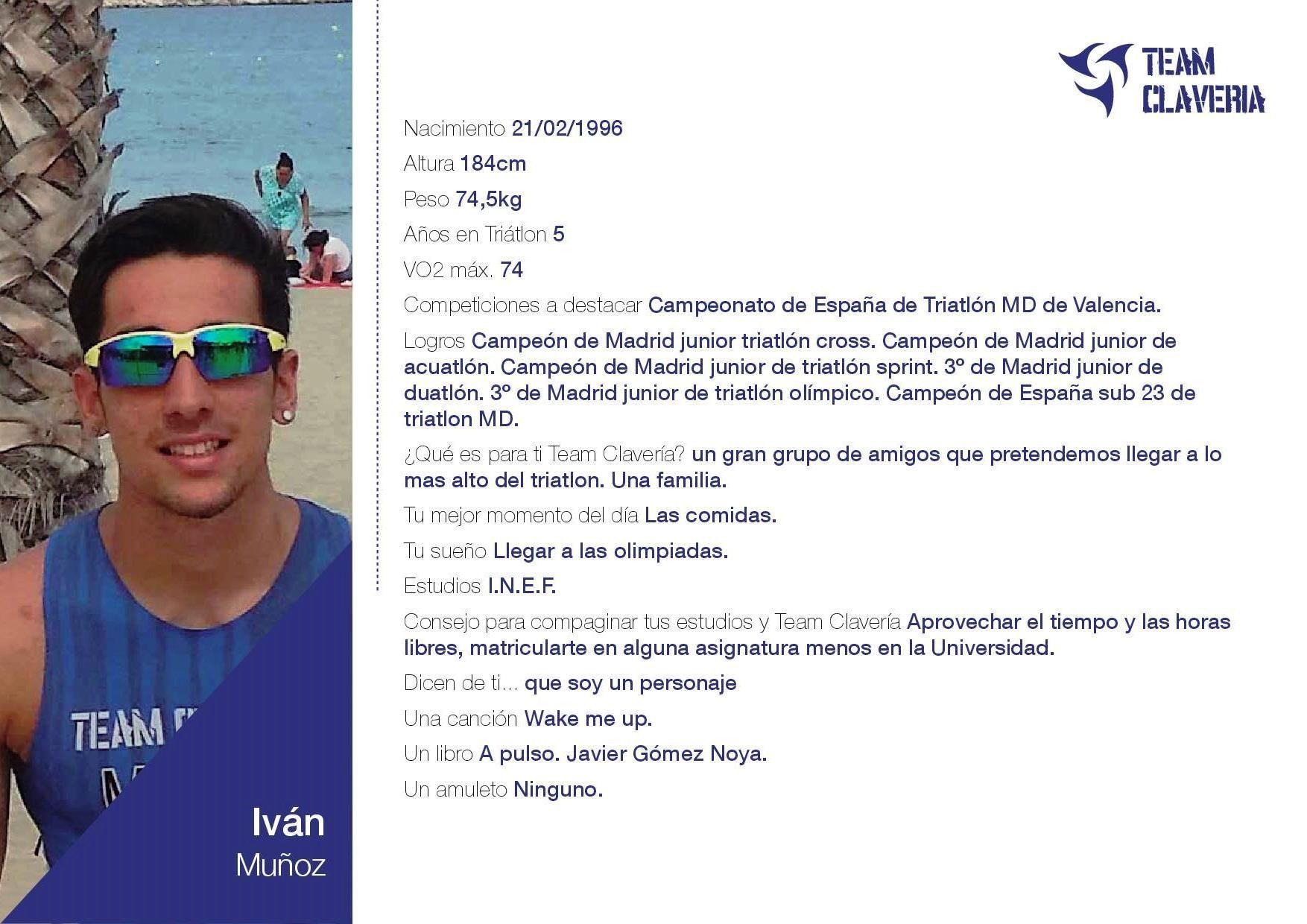 TeamClaveria Iván Muñoz