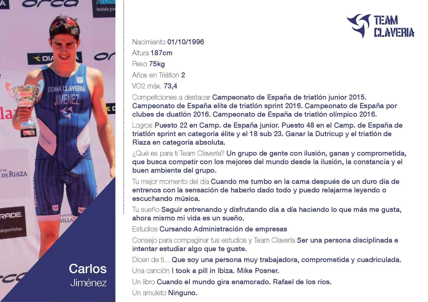 TeamClaveria-Carlos jimenez anasagasti ficha