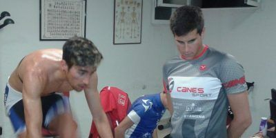 Test de Alejandro Cañas, Director de Canes Sport, a l@s triatletas del Proyecto TeamClaveria.