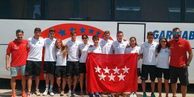 El Team Clavería en el Cto de España en Edad Escolar y por Autonomías, Almansa