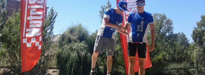 Triatlón de Aranda, sigue  la preparación del TeamClaveria para el Olimpico de Valencia