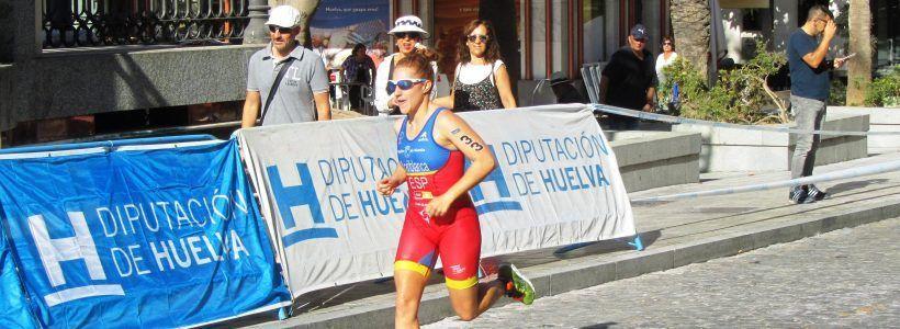 La triatleta del Team Clavería Ana Mariblanca, 19ª general y 3ª española en ITUWorldCup Huelva.