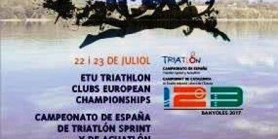 Cto España Tri Sprint y Aquatlon de Banyoles, el TeamClaveria en competición.
