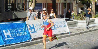 La triatleta Ana Mariblanca 19ª general y 3ª española en ITUWorldCup 2017 Huelva.