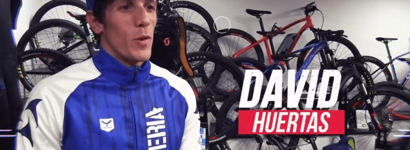 David Huertas, triatleta en el Proyecto Team Clavería 2019, compite con Diablillos de Rivas.
