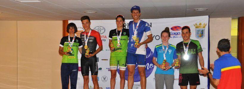 El tri del TeamClaveria David Huertas Campeón de Aragón de Triatlón por 3ª vez en Tarazona