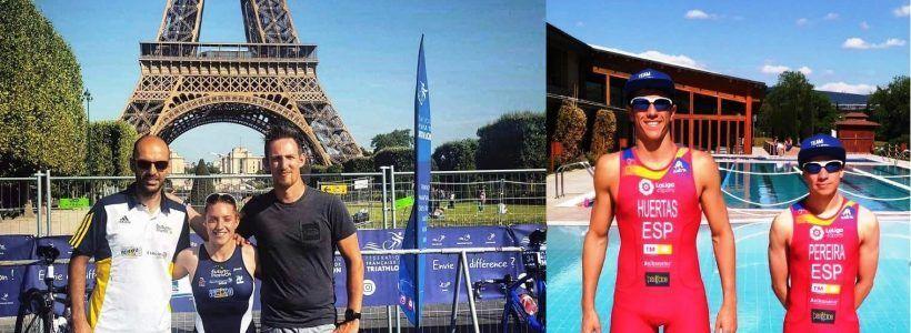El Team Clavería participan en competiciones internacionales en París y Larache.