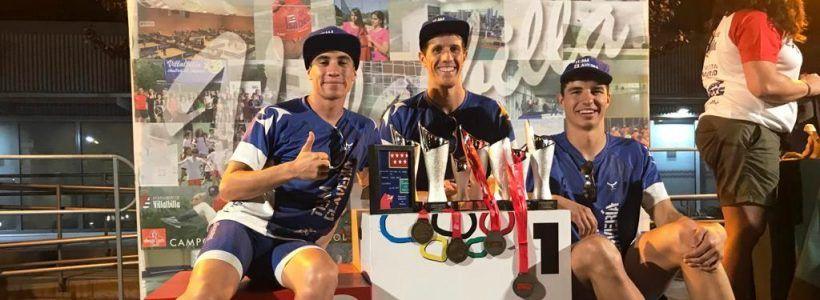 El Team Clavería copa el podio del Campeonato de Madrid de Triatlón Súper Sprint en Villabilla