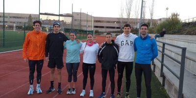 El Team Clavería ya entrena  en la piscina de Instinto Deportivo Brunete y en la Universidad Europea con José Acosta. Pretemporada 2019 (semana 07/01-13/01).