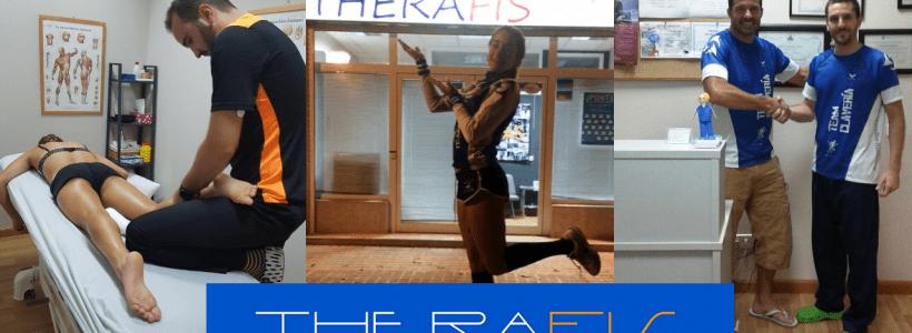 Entreno semanal del Team Clavería (18 al 24/02/2019) y fisioterapia en Clínica Therafis.