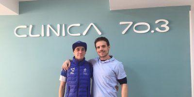 Entreno semanal del Team Clavería (11 al 17/02/2019), taller de foam roller y revisión de pisada en Clínica 70.3.