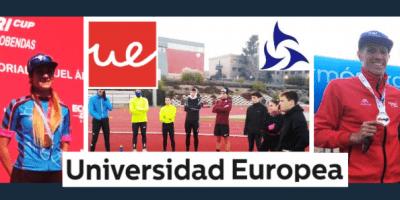 Test-61. Alba Álvarez y David Huertas subcampeones de Madrid y Aragón de Duatlón. Team Claveria Files 03/19