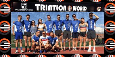 Preparación del Team Clavería para el Cto de España de Triatlón Sprint y Acuatlón de Roquetas De Mar (8 y 9 junio)