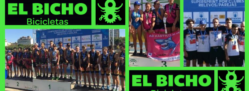 Test-79.  Fin de temporada en el Cto España Triatlón Súper Sprint/Clubes y Relevos/Parejas Sevilla. TeamClaveria Files 10/2019