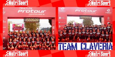 Entretenida y formativa experiencia del Team Clavería en el FETri Protour Pontevedra