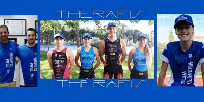 Paula Herrero se incorpora al Team Clavería que envía 4 triatletas a competir con la élite nacional al FETri Protour Pontevedra