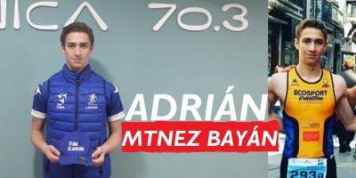 Presentación de triatletas Team Clavería para la temporada 2020. Adrián Martínez Bayán