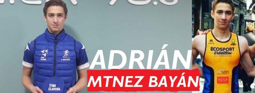 Info-84. Presentación de triatletas para 2020. Adrián Martínez Bayán. Team Claveria Files 11/2019