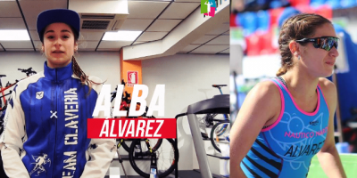 Presentación de triatletas Team Clavería para la temporada 2020. Alba Álvarez