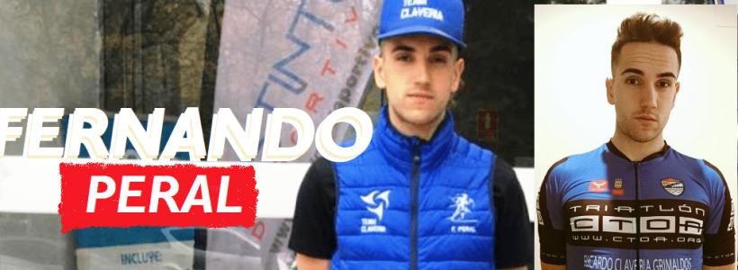 Info-91. Presentación de  triatletas para 2020. Fernando Peral Uceda. Team Claveria Files 11/2019