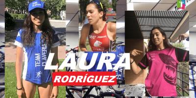 Presentación de triatletas Team Clavería para la temporada 2020. Laura Rodríguez Salinas