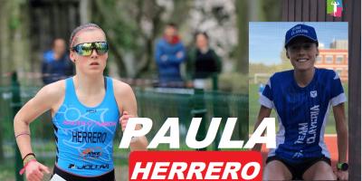 Presentación de triatletas Team Clavería para la temporada 2020. Paula Herrero Aguirre