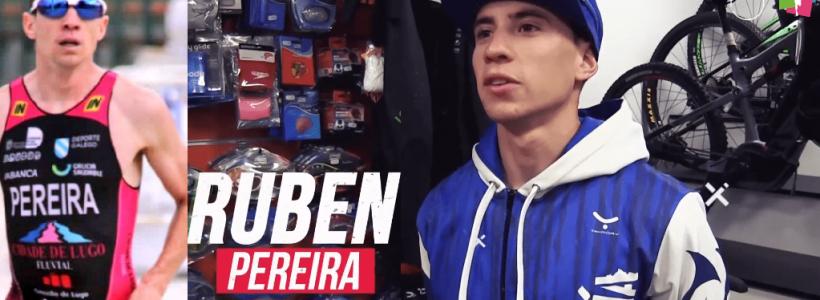 Presentación de triatletas Team Clavería para la temporada 2020. Rubén Pereira