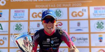 El Cidade de Lugo Fluvial gana la Liga Nacional de Clubes de Triatlón femenino y masculino en Roquetas con podios para triatletas Team Clavería.